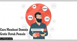 Cara Membuat Domain Gratis Bagi Pemula