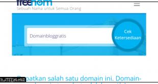 Situs Penyedia Domain Blog Gratis untuk Ngeblog